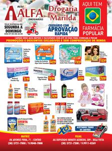 01 folheto panfleto farmacias e drogarias marilda 12 12 2017